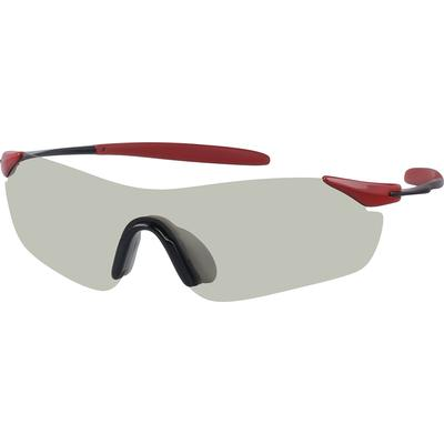 Zenni Men's Sunglasses Red Frame
