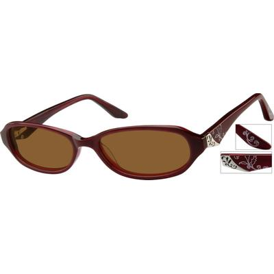Zenni Women's Sunglasses Plastic...