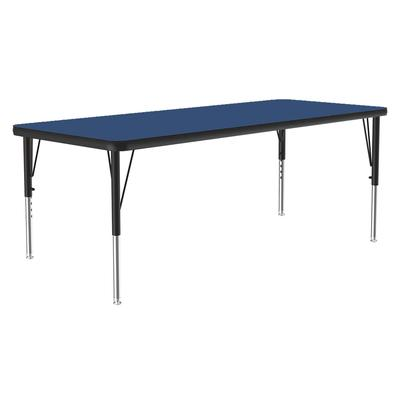 Correll A2436-REC 37 Activity Table w/ 1.25 High Pressure Top, 36W x 24D, Blue on Sale