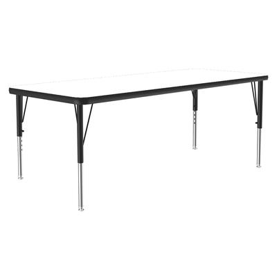Correll A2448-REC 36 Activity Table w/ 1.25 High Pressure Top, 48W x 24D, White on Sale