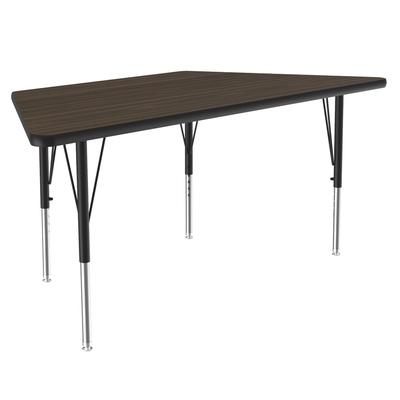 Correll A3060-TRP 01 Activity Table w/ 1.25 High Pressure Top, 60W x 30D, Walnut on Sale