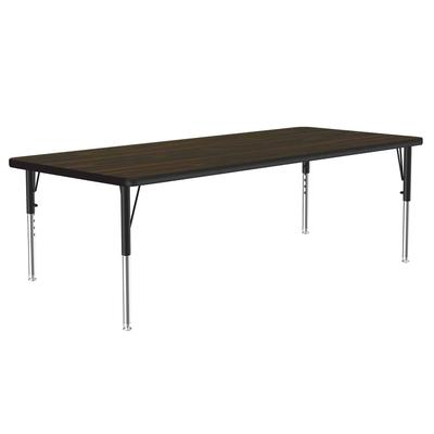 Correll A3660-REC 01 Activity Table w/ 1.25 High Pressure Top, 60W x 36D, Walnut on Sale