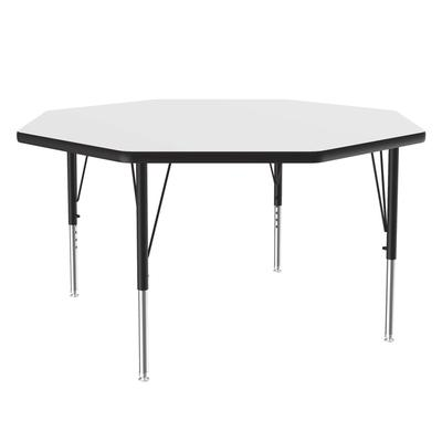 Correll A48-OCT 36 48 Octagonal Table w/ 1.25 High Pressure Top, White on Sale