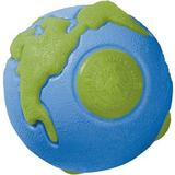 Planet Dog Orbee-Tuff Ball Tough Dog Chew Toy, Blue/Green, Small