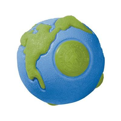 Planet Dog - Planet Dog Orbee-Tuff Ball Tough Dog Chew Toy, Blue/Green, Small