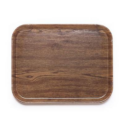 Cambro 1015304 Fiberglass Camtray Cafeteria Tray Insert - 15L x 10.1W, Country Oak on Sale