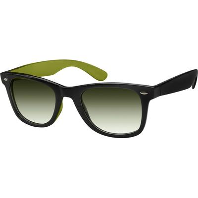 Zenni Women's Sunglasses Green P...
