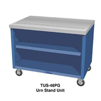 Duke TUS-74SS 74 Mobile Urn Stand Unit w/ 1 Drain, 4 Trough, All Stainless on Sale