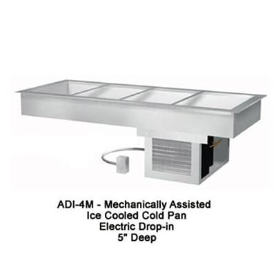 Duke ADI-2M 32 Drop-In Refrigerator w/ (2) Pan Capacity, Remote, Cold Wall Cooled, 120v on Sale