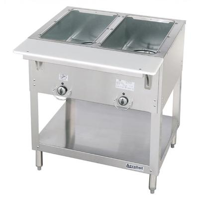 Duke E302SW 30.37 Steamtable Hot Food Unit w/ 2 Wells, Infinite Control, 120 V on Sale