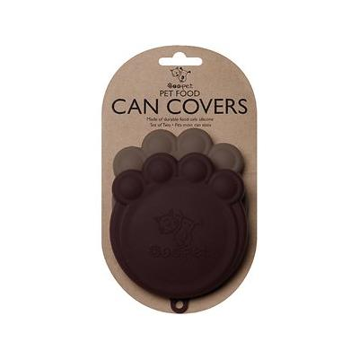 ORE Pet Can Cover, Brown/Grey, 2-pack, 4-in wide