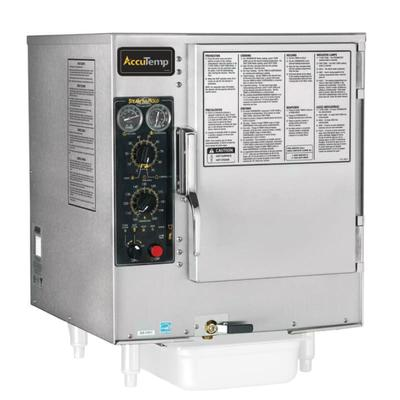 Accutemp S64403D120 (6) Pan Convection Steamer - Countertop, Holding Capability, 440v/3ph on Sale