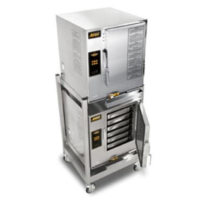Accutemp E64803E140DBL (12) Pan Covection Steamer - Stand, Holding Capability, 440v/3ph on Sale