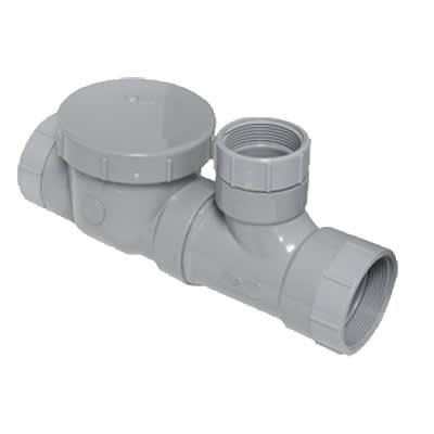 Canplas 3934135AS Spigot Format Flow Control w/ Fittings, Cleanout & Air Intake, 35 GPM, 4 on Sale