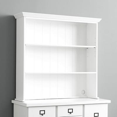 Original Home Office; Small Open Base Hutch - Ballard Designs