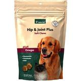 NaturVet Hip & Joint Plus Dog & Cat Soft Chews, 120 count