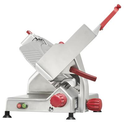 Berkel 829E-PLUS 14 Round Manual Slicer w/ Angled Gravity Feed & Knife Guard, Sharpener, 115v