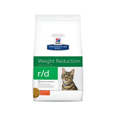 Hill's Prescription Diet r/d Weight Reduction Chicken Flavor Dry Cat Food, 8.5-lb bag