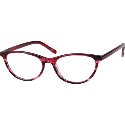 Zenni Women's Geek Chic Cat-Eye ...