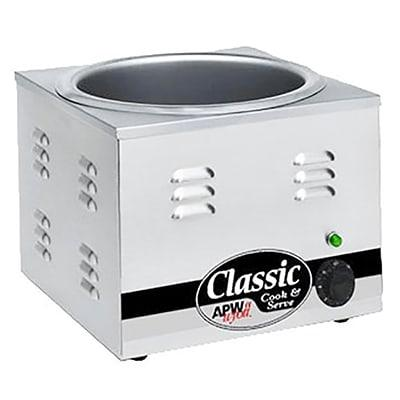 APW CW-1B 11 qt Countertop Soup Warmer w/ Thermostatic Controls, 120v on Sale