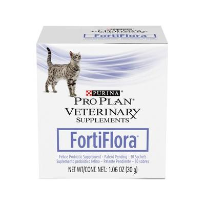 Purina Pro Plan Veterinary Diets FortiFlora Probiotic Gastrointestinal Support Cat Supplement, 180 packets