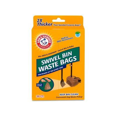 Arm & Hammer Swivel Bin Waste Ba...