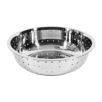 Town 31815 15 Stainless Chinese Style Colander w/ Large Perforations on Sale