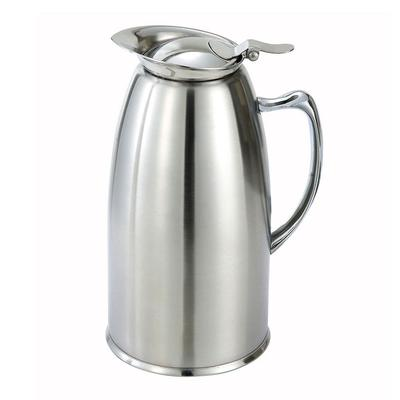 Winco VSS-508 20 oz Beverage Server w/ Satin Finish, Stainless Steel Lined on Sale