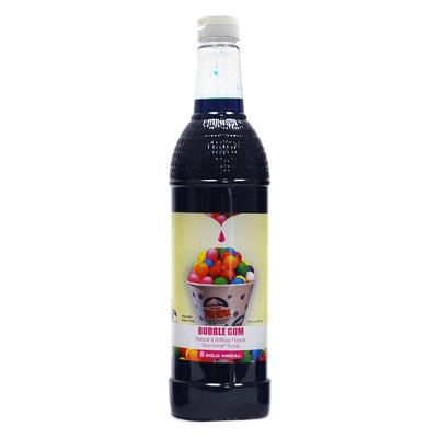 Gold Medal 1432 25 oz Bubble Gum Snow Cone Syrup, Ready-To-Use