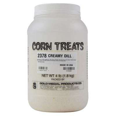 Gold Medal 2378 4 lb Shake-On Creamy Dill Flavor on Sale