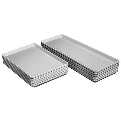 Channel D1826-W Display Storage Tray w/ Reinforced Front & Side Edges, White on Sale