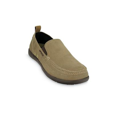 Crocs - Crocs Khaki / Espresso Men'S Walu Slip-On Shoes