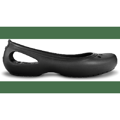 Crocs Black / Black Women's Kadee Flat Shoes