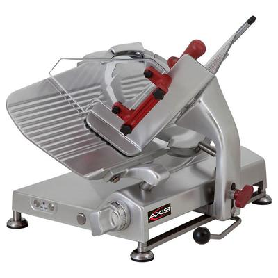 Axis AX-S13G 13 Meat Slicer for Sausage, Meat & Cheese, Gravity Feed Gear Driven, .5 hp on Sale