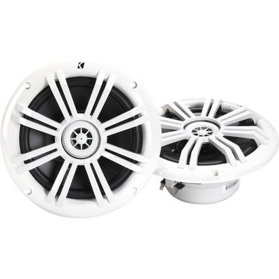 "Kicker 41KM604W 6-1/2"" Marine 2-way Speakers 2-ohm on Sale"