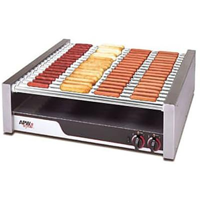 APW HR-85 75 Hot Dog Roller Grill - Flat Top, 240v/1ph on Sale