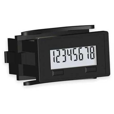 REDINGTON 6300-0500-0000 Electronic Counter,8 Digits,LCD