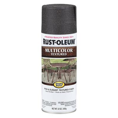 Textured Spray Paint, Aged Iron, Textured Paint and Primer Finish, Net Weight 12 oz., Paint and Primer Surface Material Concrete, Masonry, Metal, Wood, Solvent Base Type, Resin Type Enamel, Application Temperature 50 to 90 Degrees F, Interior/Exterior,...