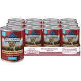 Blue Buffalo Wilderness Rocky Mountain Meat Dinner Puppy Grain-Free Canned Dog Food, 12.5-oz, 12ct