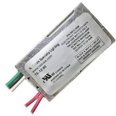 National Specialty Lighting 71080 - 80 watt Halogen Transformer (TE-12-80)