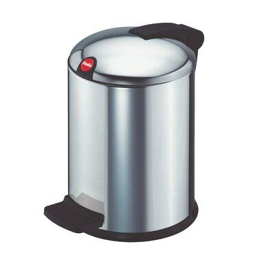 Wesco I Master Single 2 38 Gallon Step On Trash Can Stainless Steel In White Size Small 2 5 Gallons Wayfair 382 404 01 From Wayfair Ibt Shop