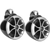 Wet Sounds Icon 8 B-SC 8 Black Marine Tower Speakers Swivel