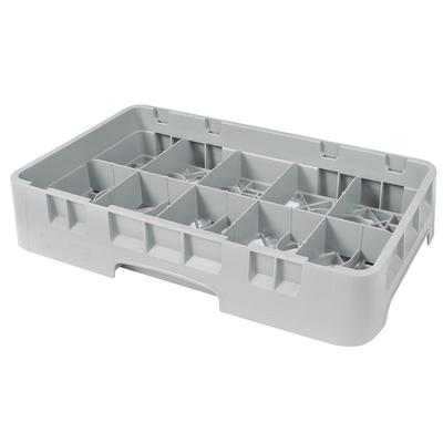 Cambro 10HC258151 Camrack Cup Rack - 10 Compartment, Half-Size, Soft Gray on Sale