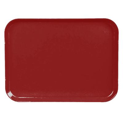 Cambro 1520CL675 Fiberglass Camlite Cafeteria Tray - 20.25L x 15W, Steel Red on Sale