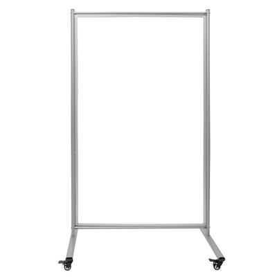 Luxor MD4072W Reversible Whiteboard Room Divider w/ 2 Magnetic Sides, 39 x 64 on Sale