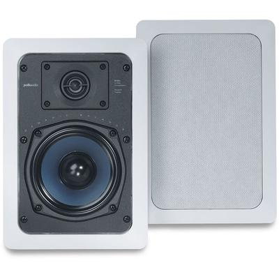 "Polk Audio RC55i Pair 5.25"" 2-Way In-Wall Speakers"