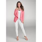 Slimming Stretch Jeggings Pants - White