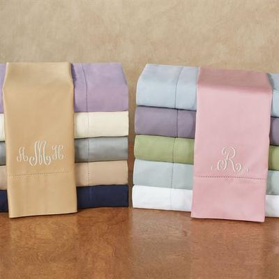 Hem Stitch Sheet Set, Queen, Blush