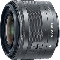 Canon EF-M 15-45mm f/3.5-6.3 IS STM- Graphite by Canon at Crutchfield for 299.00