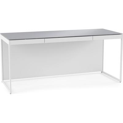 BDI Centro 6401 Desk with Keyboard Drawer and Included Back Panel